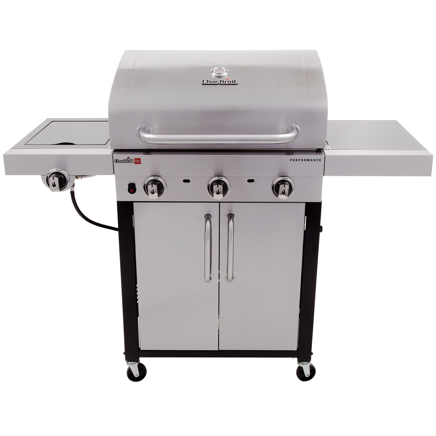 Char-Broil  Performance Series 3 Burner  3 burners Propane  Stainless Steel  Grill  24000 BTU