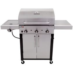 Char-Broil  Performance  Liquid Propane  Grill  Stainless Steel  3 burners