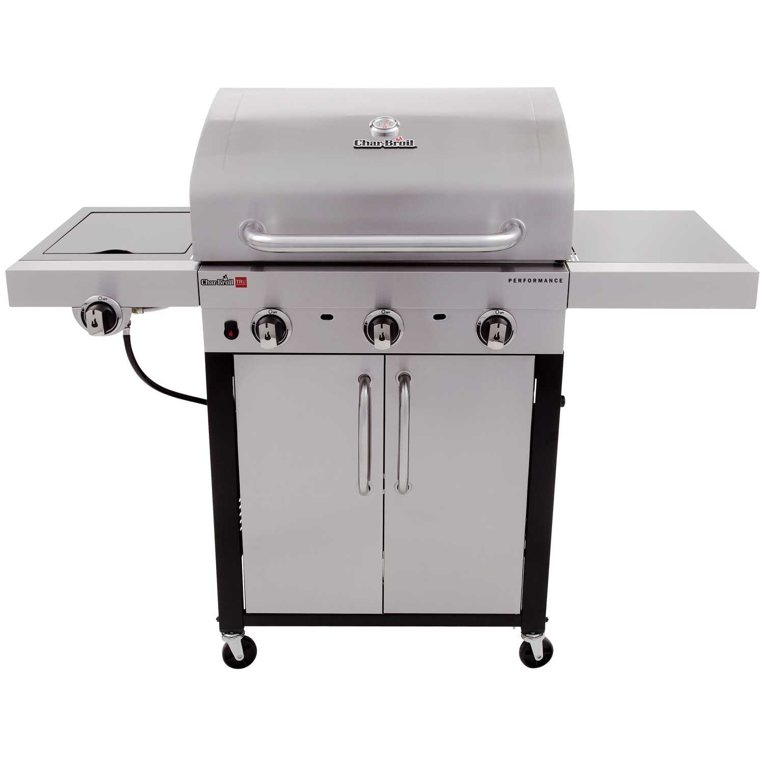 Char-Broil  Performance  3 burners Propane  Grill  Stainless Steel  24000 BTU