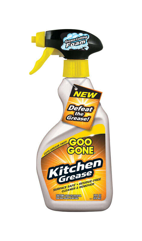 Goo Gone  Citrus Scent Kitchen Degreaser  14 oz. Liquid