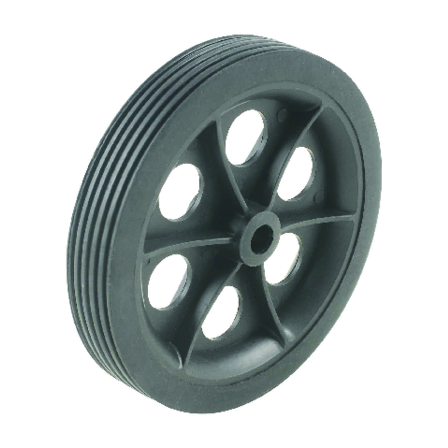 Apex  5 in. H x 7/8 in. W x 5 in. L Shopping Cart Wheel