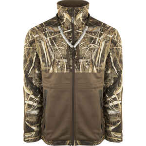 Drake  Eqwader  S  Long Sleeve  Men's  Full-Zip  Jacket  Realtree Max-5