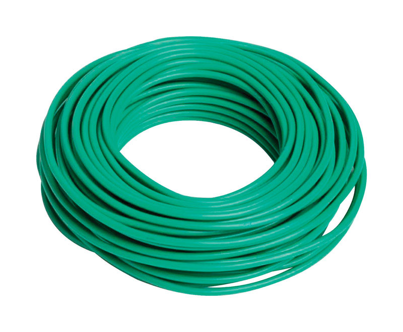 Bond Manufacturing  Coated Wire  Ties  Green