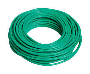 Bond Manufacturing  4-1/2 in. W Green  Coated Wire  Ties