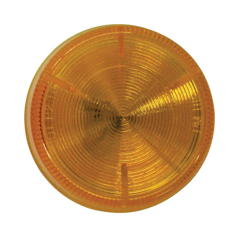 Peterson  Round  Amber  Clearance Side Marker Light