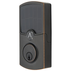 Array By Hampton  ARRAY Cooper  Tuscan Bronze  Zinc  Electronic Deadbolt