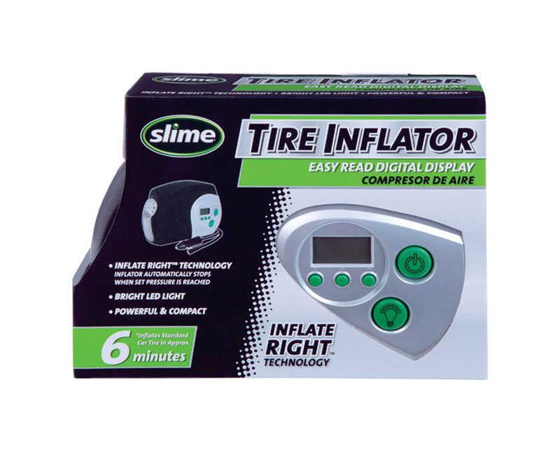 Slime Digital Tire Inflator 12 Volt 40051 - Digital