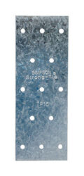 Simpson Strong-Tie  5 in. H x 0.04 in. W x 1.8 in. L Galvanized  Steel  Tie Plate