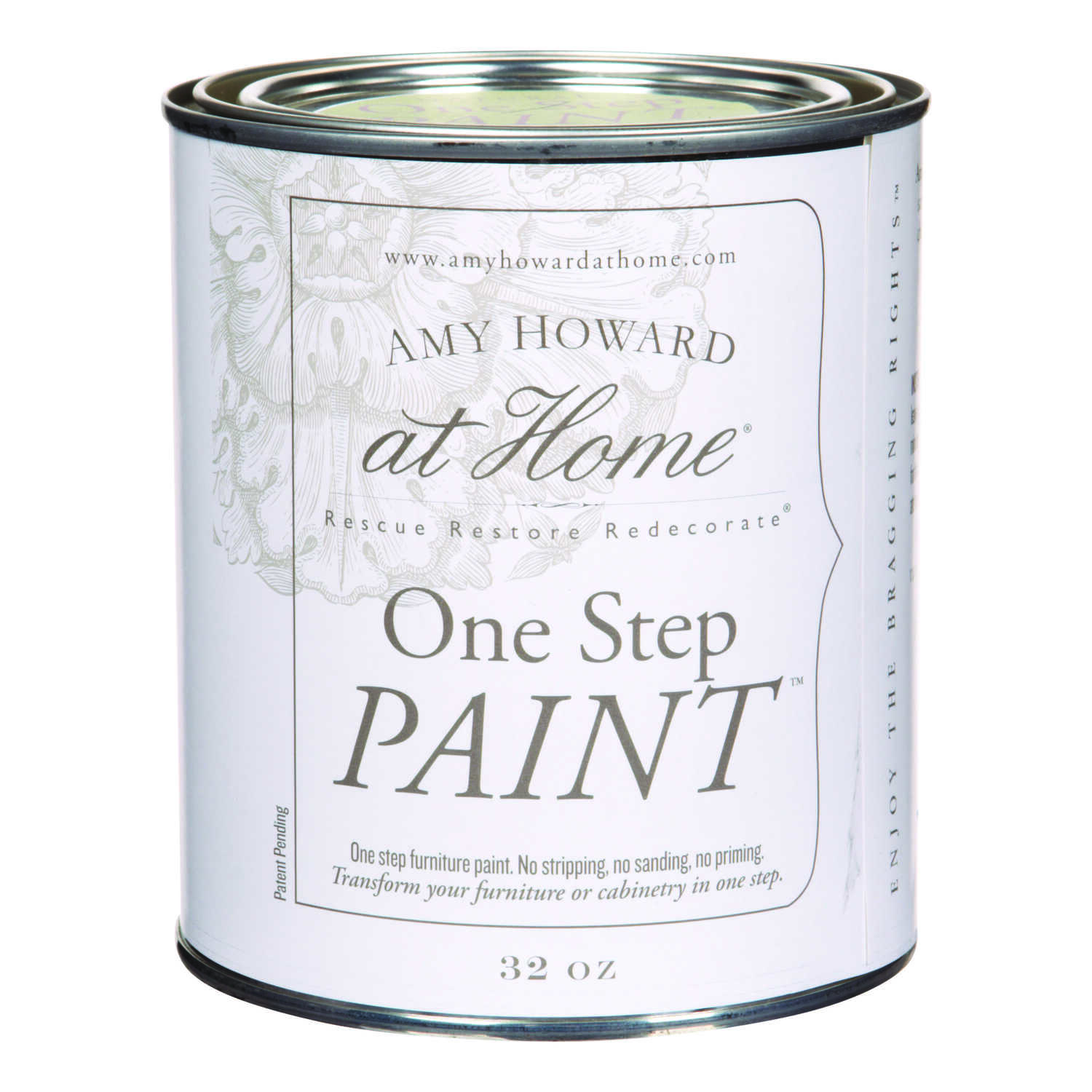Amy Howard at Home  Flat Chalky Finish  Dunavant Green  Latex  One Step Paint  32 oz.