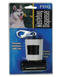 PDQ  Plastic  Dog Waste Bag Dispenser  20 pk