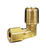 JMF 7/8 in. Compression x 3/4 in. Dia. MPT Brass 90 Degree Street Elbow
