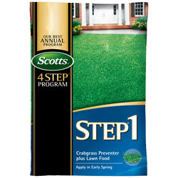 Scotts  Step 1  28-0-7  Crabgrass Preventer with Fertilizer  For All Grass Types 13.46 lb. 5000 sq.