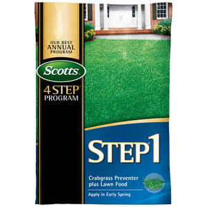 Scotts  Step 1  28-0-7  Crabgrass Preventer with Fertilizer  For Augustine 13.46 lb. 5000 sq. ft.