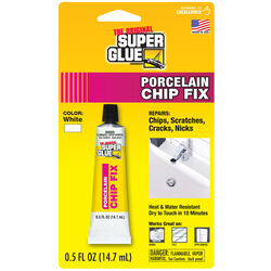 The Original Super Glue Corporation  Porcelain Chip Fix  High Strength  All Purpose Super Glue  0.5