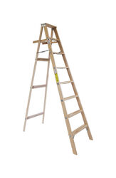 Michigan Ladder 96 in. H Wood Step Ladder Type II 225 lb.