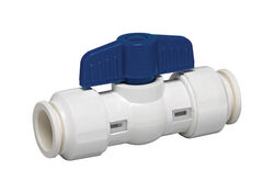 Homewerks  3/4 in. PVC  Push Fit  Ball Valve