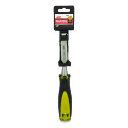 Ace  Pro Series  5/8 in. W Carbon Steel  Wood Chisel  Black/Yellow  1 pk