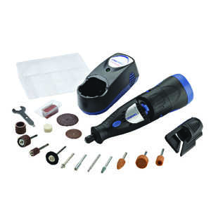 Dremel  Cordless  Rotary Tool  Kit 7.4 volts 1/8 in. 20000 rpm 15 pc.