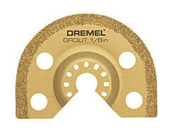 Dremel  Multi-Max  2.67 in.  Steel  Grout Removal Blade  1 pk