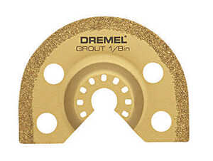 Dremel  Multi-Max  2.7 in   x 1/8 in. L Steel  Grout Removal Blade  1 pk