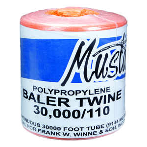 Mustang  30000 ft. L Orange  Poly  Twine