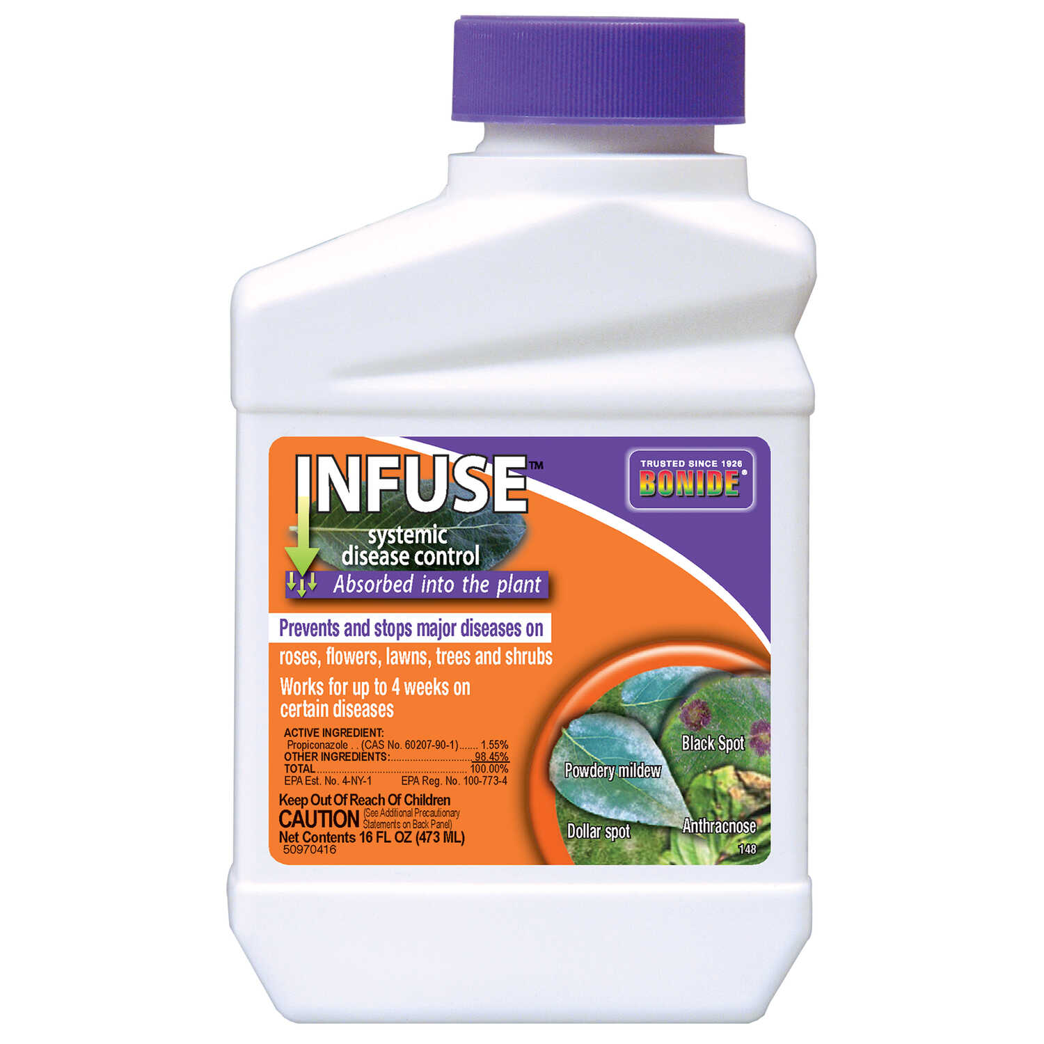 Bonide  Infuse  Concentrated Liquid  Disease Control  16 oz.