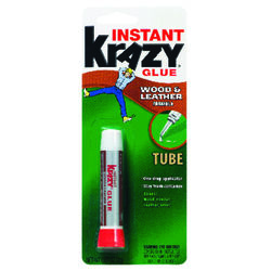 Krazy Glue  White  Wood and Leather  0.07 oz.