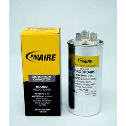 Perfect Aire  ProAire  40+5 MFD  370 volt Round Run Capacitor