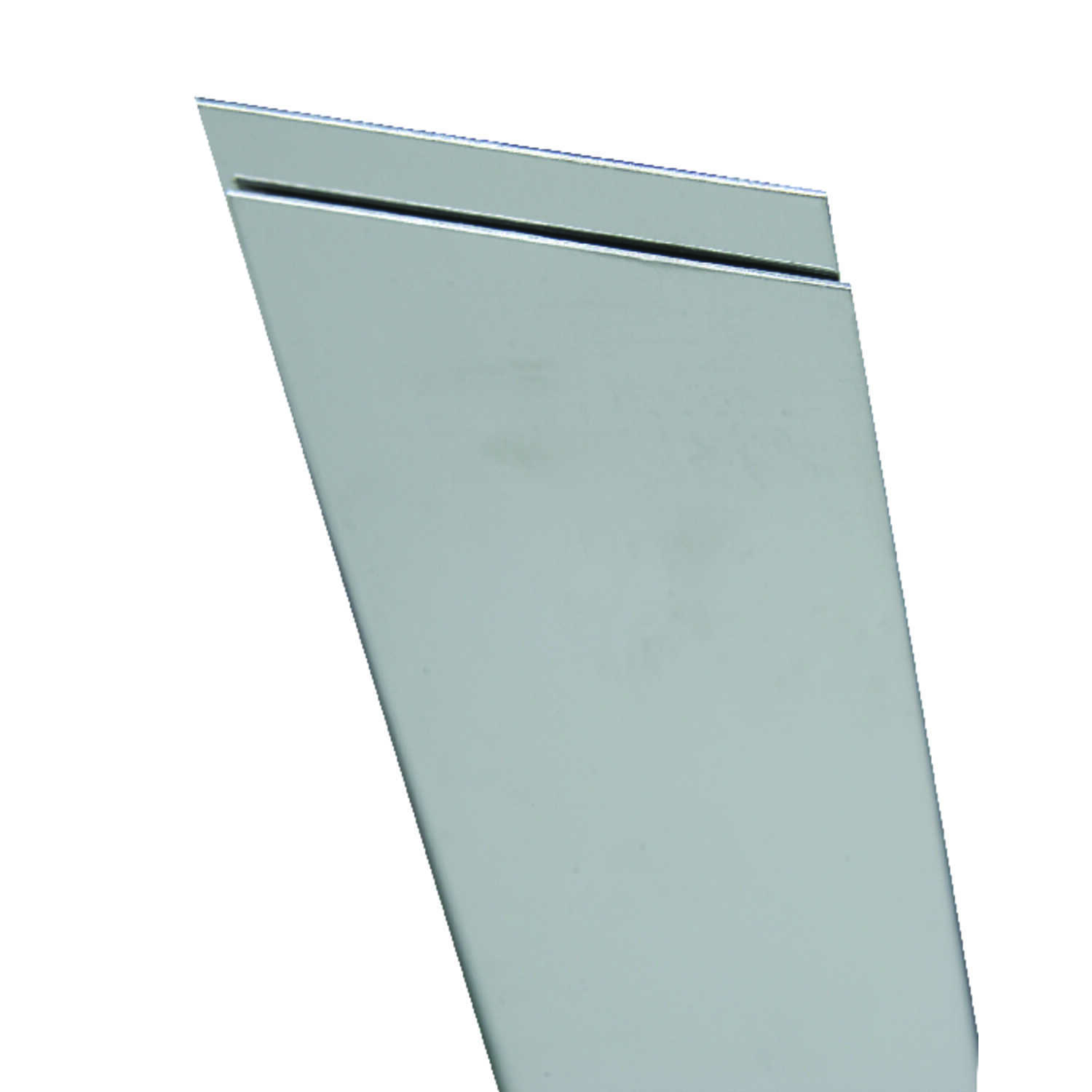 K&S  6 in. Stainless Steel  Sheet Metal