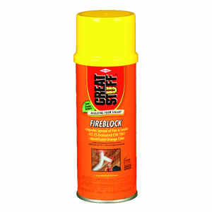 GREAT STUFF  Orange  Polyurethane Foam  Insulating Sealant  12 oz.