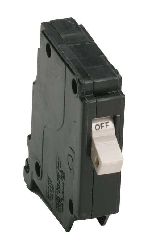 Eaton  Cutler-Hammer  30 amps Plug In  Single Pole  Circuit Breaker