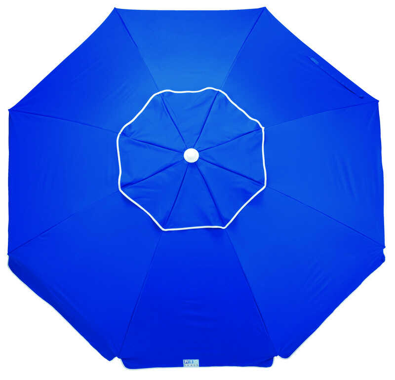 Rio Brands  Deluxe  6-1/2 ft. Tiltable Assorted  Beach Umbrella