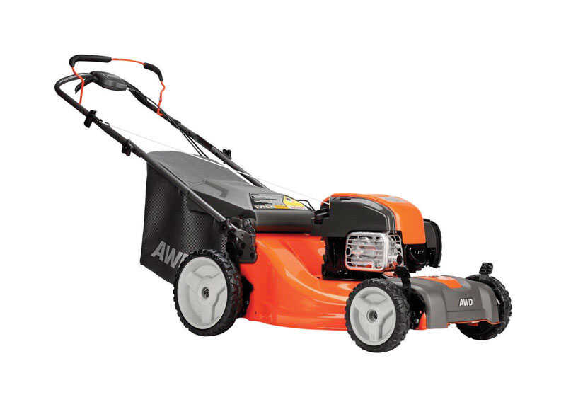 Husqvarna  21 in. W 163 cc Self-Propelled  Mulching Capability Lawn Mower
