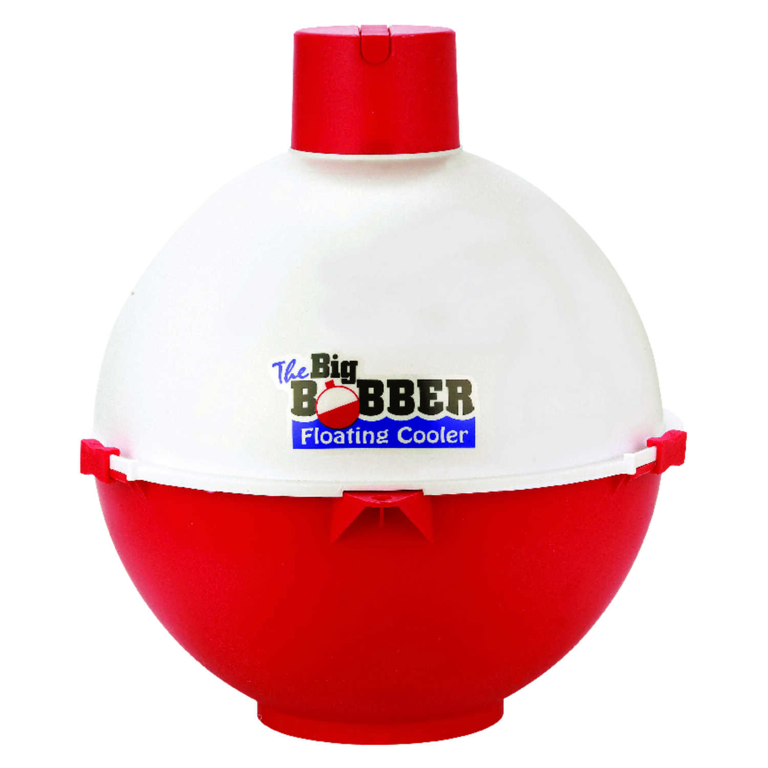Byers  The Big  Bobber  Floating Beverage Cooler  12 can Red/White