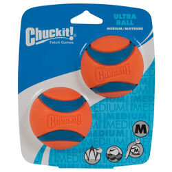 Chuckit!  Blue/Orange  Ultra Ball  Rubber  Ultra Ball  Medium  2