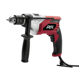Skil  1/2 in. Keyed  Corded Hammer Drill  7 amps 3000 rpm