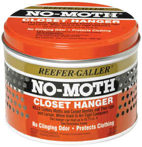 Reefer-Galler  NO-MOTH  Moth Closet Hangers  14 oz.