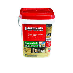 FastenMaster TimberLok No. 10 x 2-1/2 in. L Hex Epoxy Wood Screws 500 pk