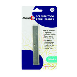 Zinsser  4 in. W Steel  Fixed  Scraper Refill Blades