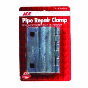Ace  3/4 in. Dia. Pipe Clamps  Steel