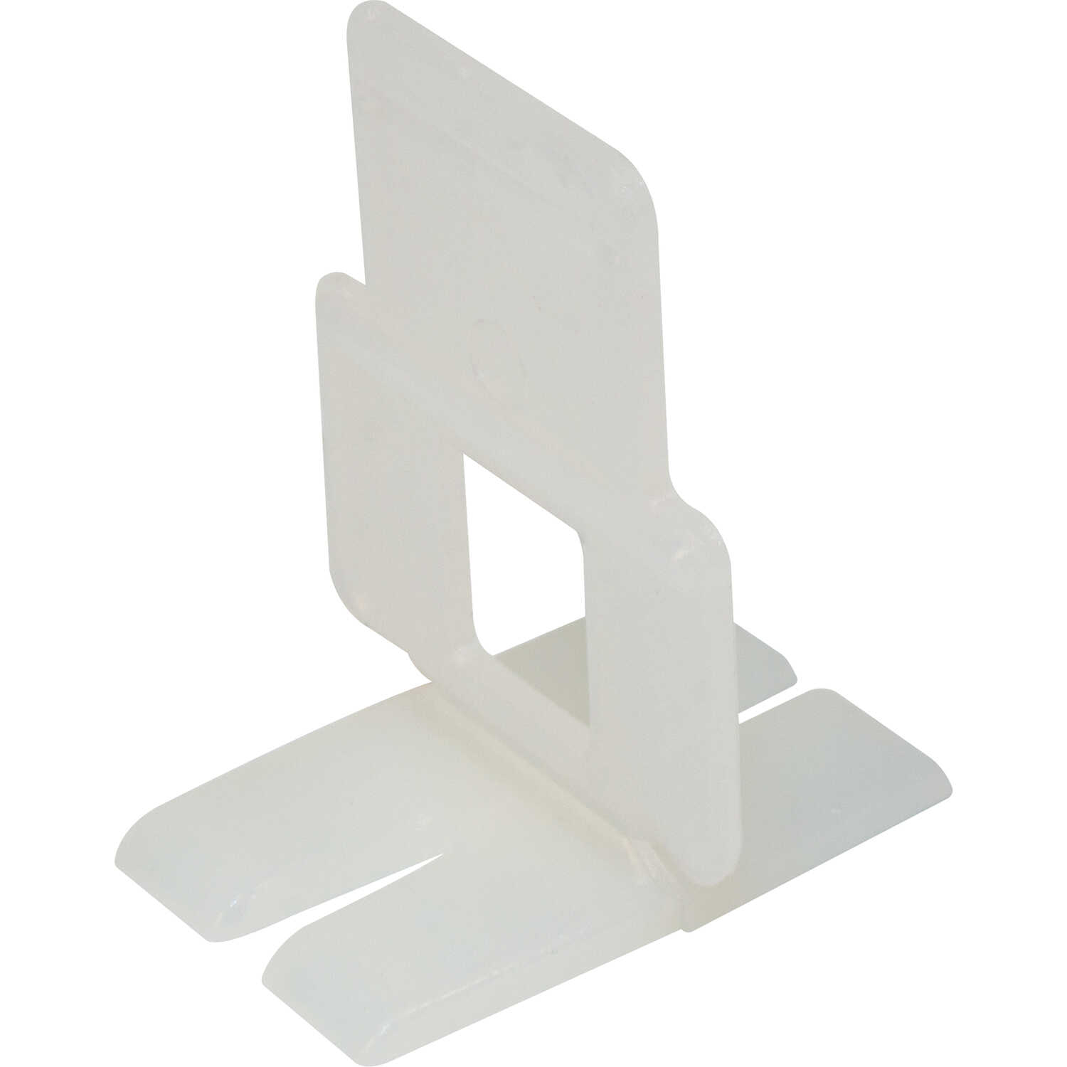 QEP  1 in. H x 1/16 in. W Plastic  Tile Spacer Clips  300 pk