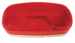 Peterson  Piranha  Oval  Red  LED Light  Clearance/Side Marker