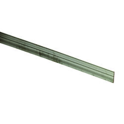 Boltmaster 0.0625 in. x 1 in. W x 8 ft. L Weldable Aluminum Flat Bar 1 pk