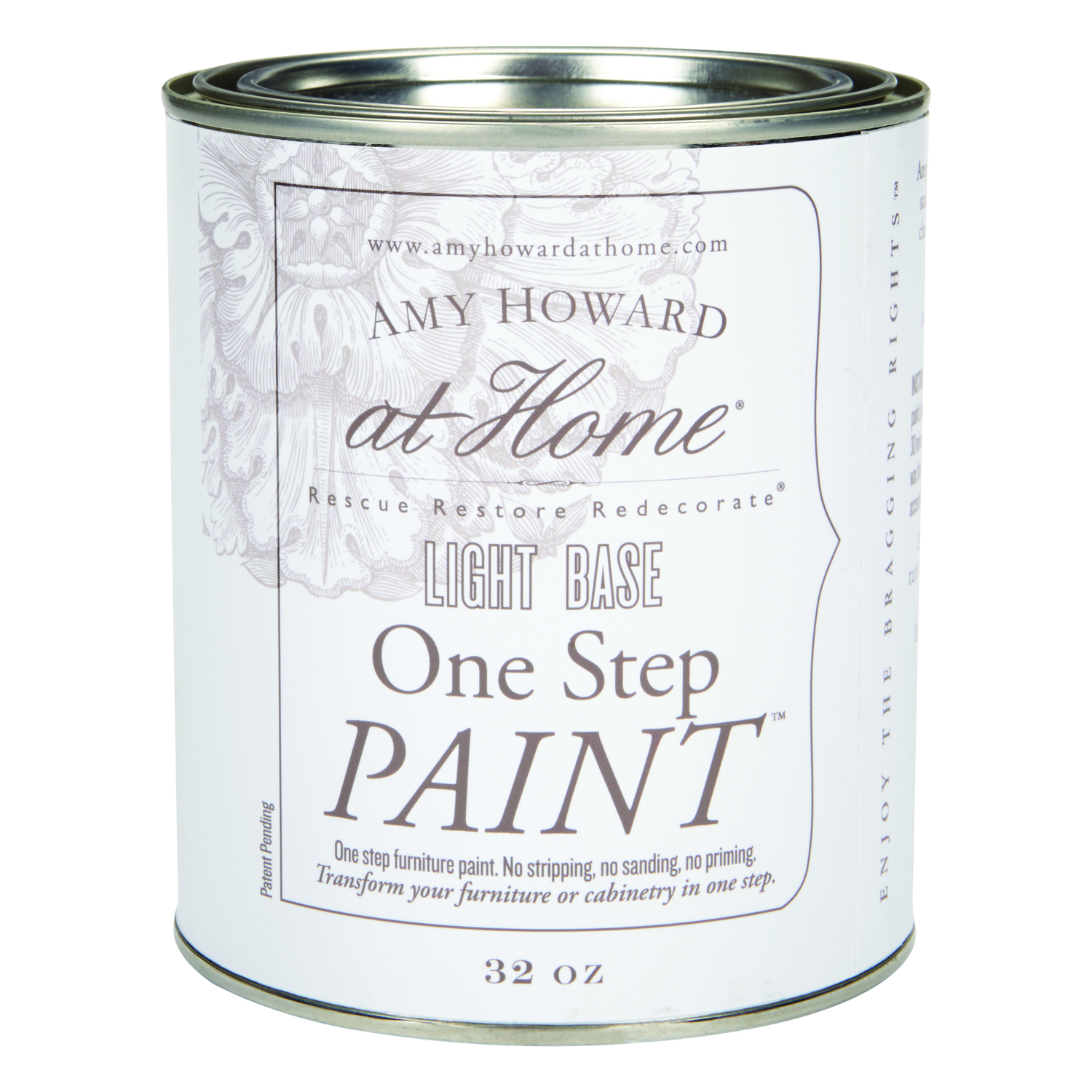 Amy Howard at Home  Latex  32 oz. Light Base  One Step Furniture Paint