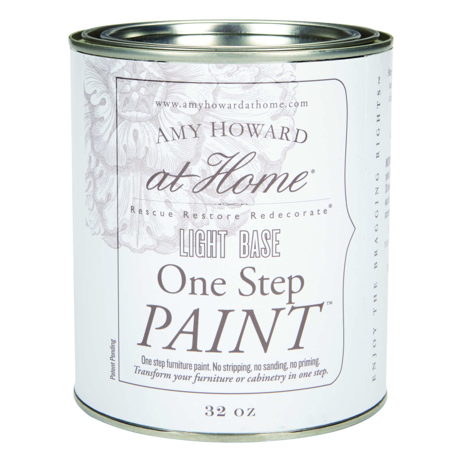 Amy Howard at Home  Light Base  Latex  One Step Furniture Paint  32 oz.