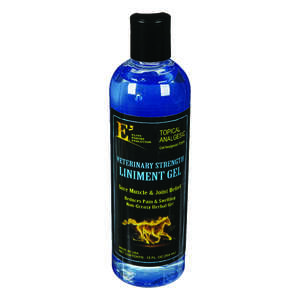 E3  Gel  Liniment Gel  For Horse 12 oz.