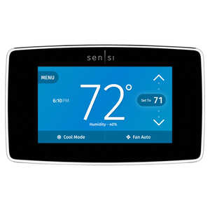 Emerson  Sensi  Built In WiFi Heating and Cooling  Touch Screen  Smart Thermostat