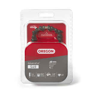 Oregon  AdvanceCut  14 in. 49 links Chainsaw Chain