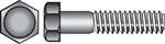 Hillman  1/2 in. Dia. x 3 in. L Zinc Plated  Steel  Hex Bolt  50 pk
