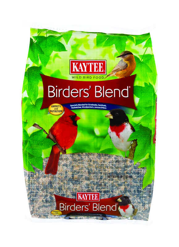 Kaytee  Assorted Species  Wild Bird Food  Oil Sunflower  16 lb.